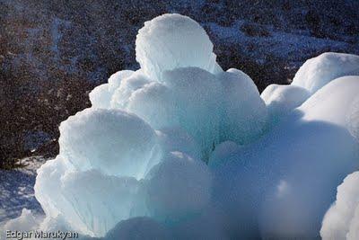 Սառույց, Ձյուն, Ջուր