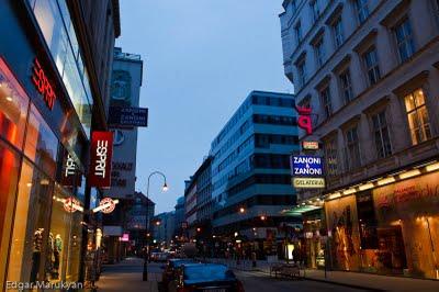 Վիենայի փողոցներով քայլելիս